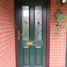 Front door at property in Gresford